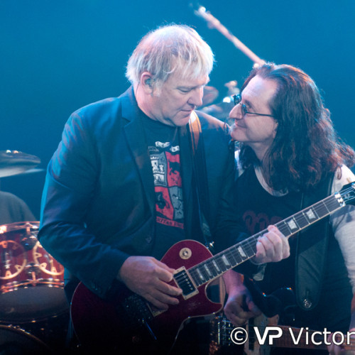 Alex Lifeson and Geddy Lee (Rush), Ahoy, Rotterdam (2011/05/27)