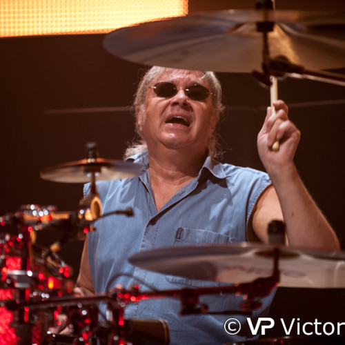 Ian Paice (Deep Purple), IJsselhallen, Zwolle (2013/10/19)