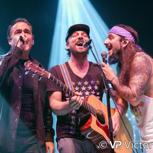 Neal Morse, Casey McPherson and Mike Portnoy (Flying Colors), Poppodium 013, Tilburg (2014/10/09)