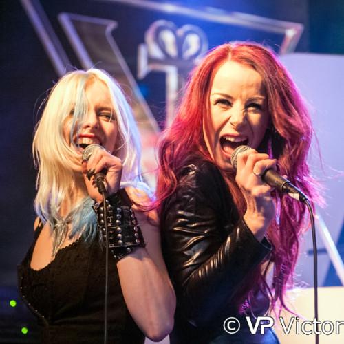 Laura Guldemond and Maria Catharina (Robby Valentine), Estrado, Harderwijk (2015/02/14)