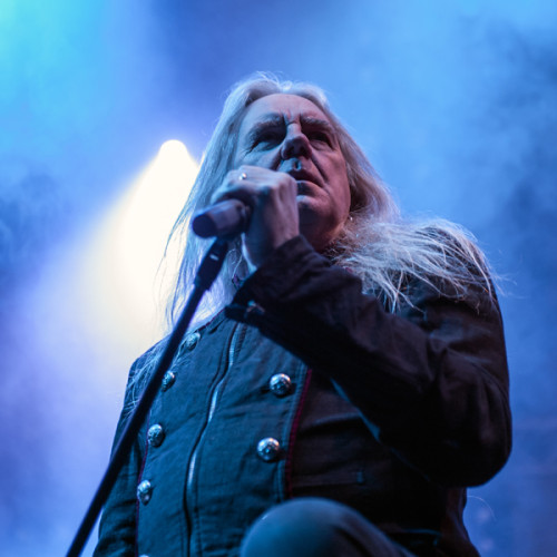 Saxon performing at Paaspop in Schijndel (2015/04/04)
